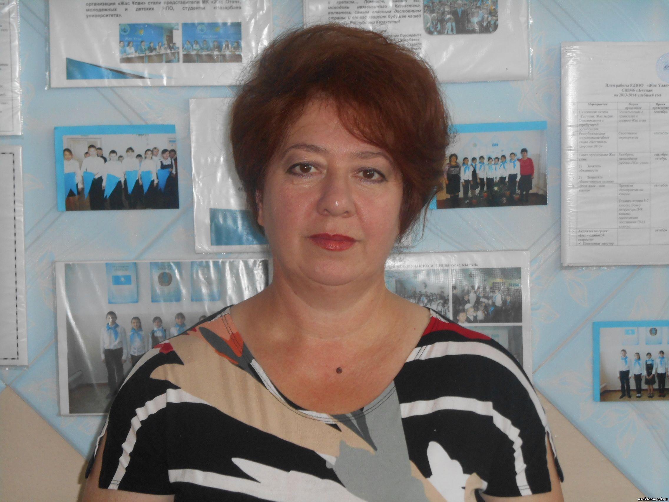 Измайлова Рая Закриевна